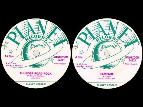 THE PLANET ROCKERS - Thunder Road Rock / Rampage