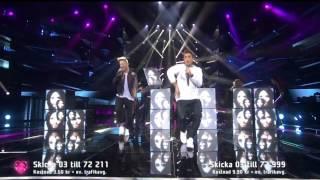Melodifestivalen 2015 - Groupie [Samir & Viktor]