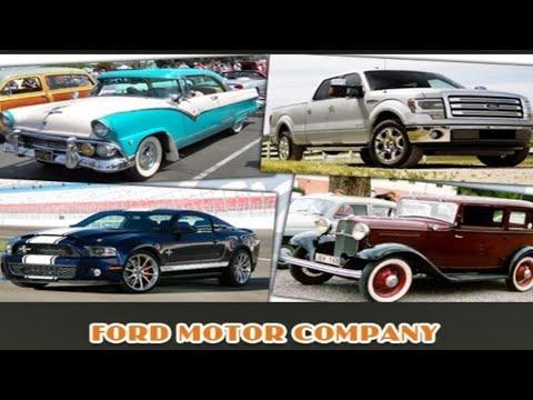 Обзор моделей автомобиля марки Форд в фотографии История развития 1900-1970 (HD)