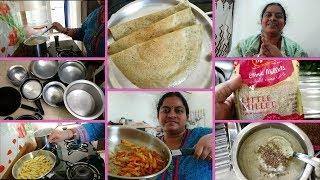 మొత్తానికి అన్నీ మార్చేశాను||ఈరోజు సామలు తో(Little Millets)పెసరట్టు||Millet Recipes||RAMA SWEET HOME