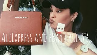 aliexpress and eBay haul #3 // LUXURY & HIGH END.. MICHAEL KORS, TIFFANY & CO, CHANEL & ROSEFIELD..