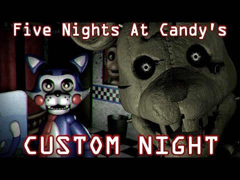 Five Nights At Candys CUSTOM NIGHT REQUESTS!  Five Custom Nights At Freddys #2