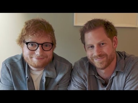 Chris Davis - Ed Sheeran and Prince Harry team up for World Mental Health Day Video
