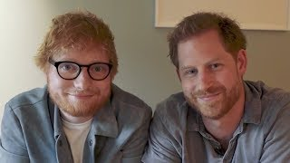 Prince Harry and Ed Sheeran team up for World Mental Health Day tune