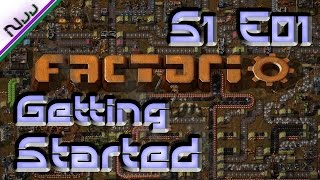 Factorio Tutorial / Lets Play - S1 E01 - How to Get Started