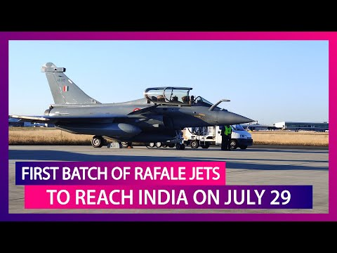 First Batch Of Five Rafale Jets Reach UAE From France, To Land In India On July 29