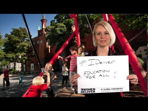 Pia Allerslev, Mayor for Youth and Education in Copenhagen - #IDeliver