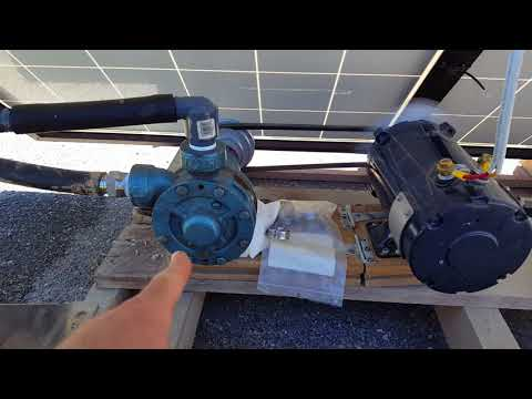 Solar direct water pumping (PV direct)