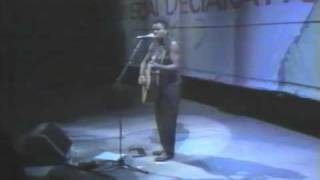 Tracy Chapman - Freedom Now - Live at Amnesty International 1988
