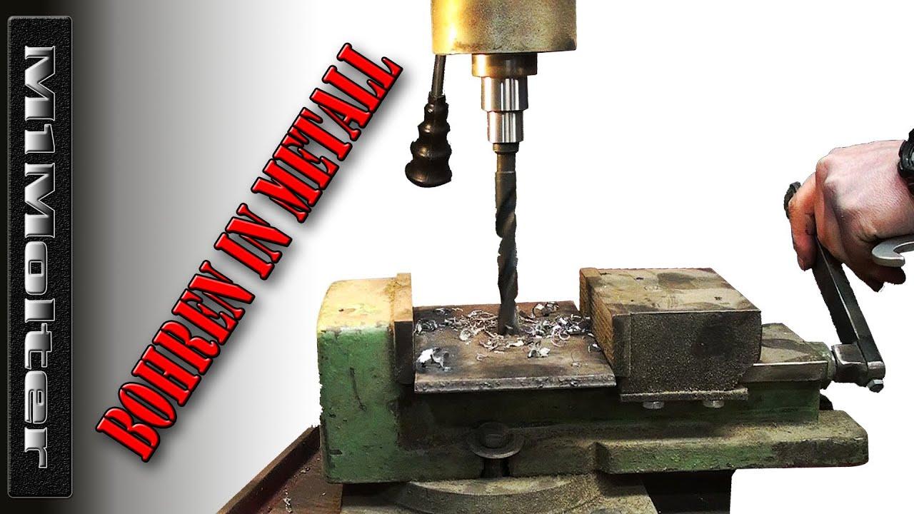 bohren senken metallbearbeitung heimwerker tipps von m1molter youtube. Black Bedroom Furniture Sets. Home Design Ideas