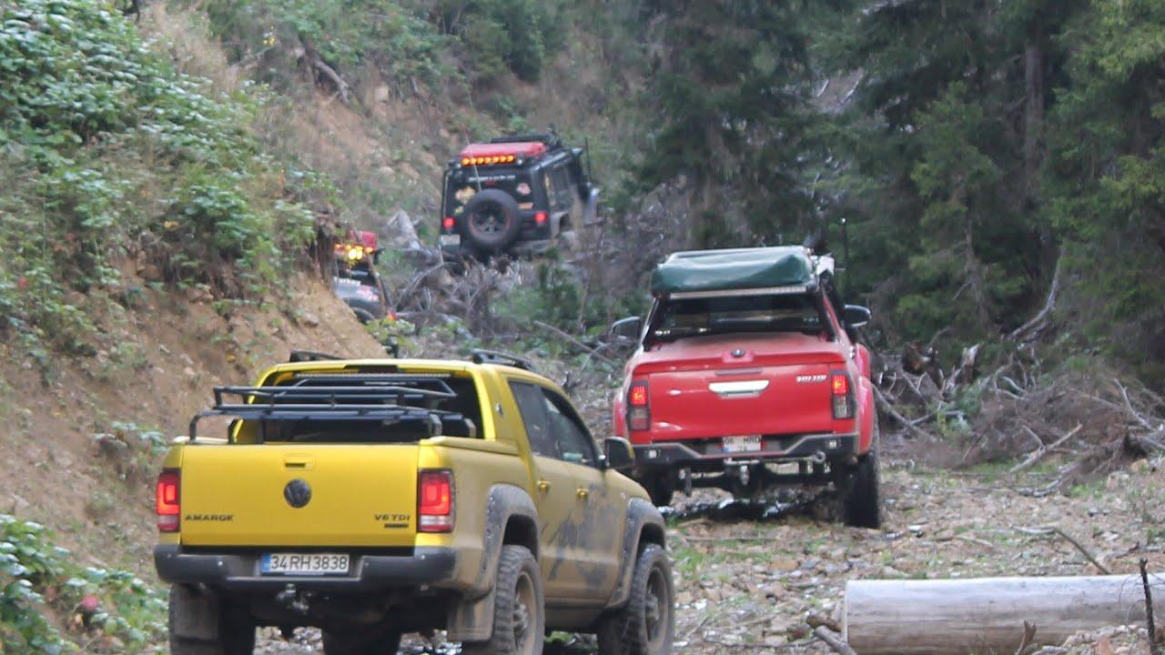 Amarok / L200 / Navara 4WD ADVENTURE @TURKIYE JEEP SAFARI🇹🇷 Gelevera Vadisi