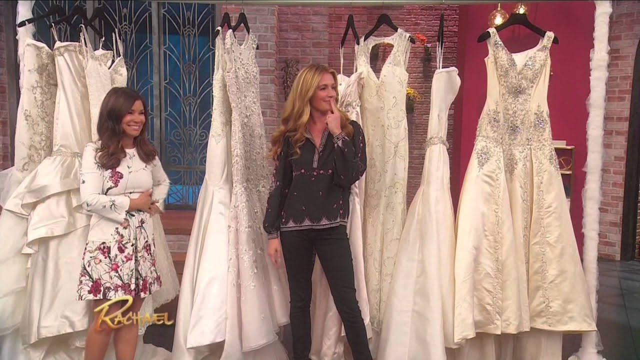 Rachel Ray 4 Rules For Finding The Perfect Wedding Dress Youtube