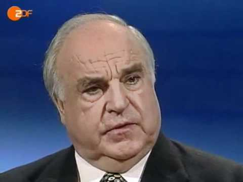 Helmut Kohl im Interview