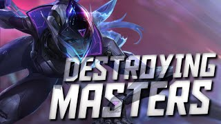 DESTROYING MASTER PLAYERS WITH VAYNE - LEAGUE OF LEGENDS