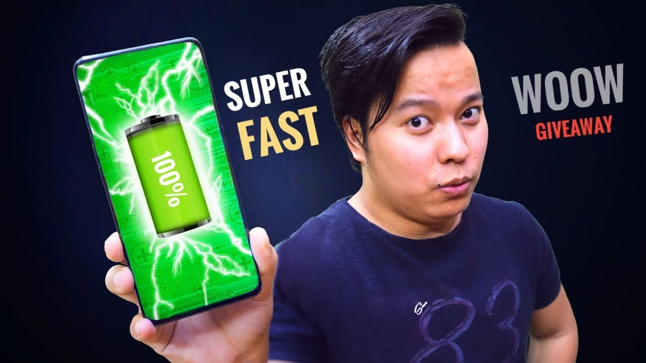 Fastest Charging Smartphone *🔋0-100% in Just ??*