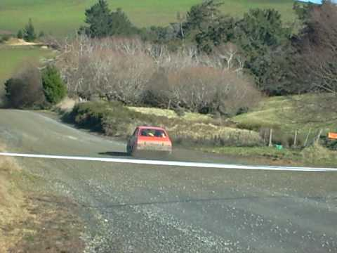 Nev  Kidd and Andy Reid 2009 Catlins Rally