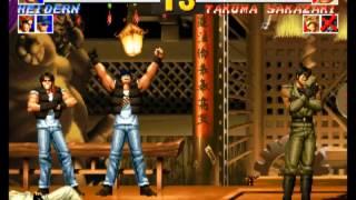 Mame  킹 오브 파이터즈 95 최고난이도 이카리 팀 원코인 The King Of Fighters 95 Ikari Team Hardest 1