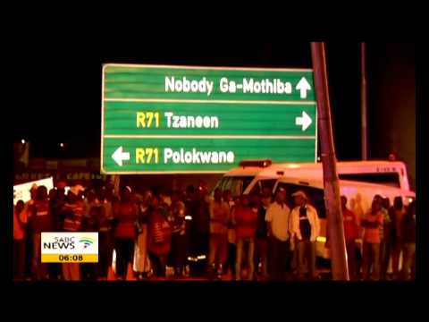 Four soccer players killed in Limpopo crash