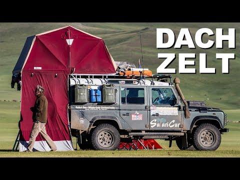 Dachzelt & Defender I 4x4 Passion #43 - YouTube