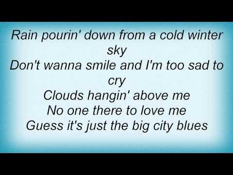 Barry Manilow - Big City Blues Lyrics_1