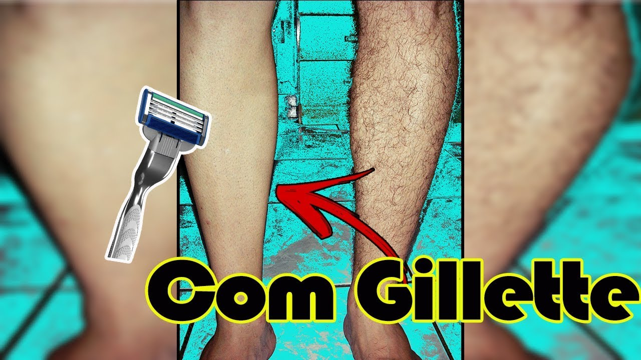 como depilar as pernas para homens