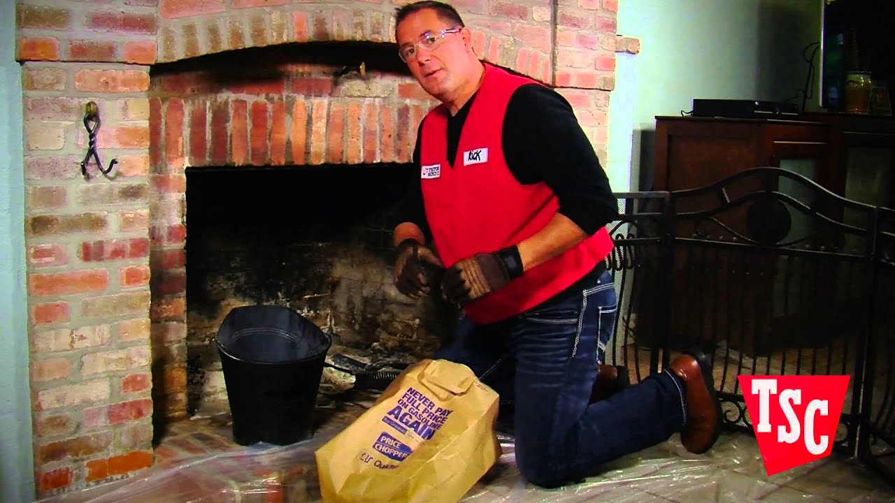 how to clean a fireplace youtube
