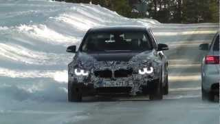 2014 BMW M3 sedan is spied out in the Wild