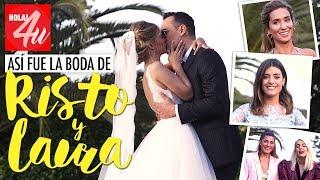 Risto y Laura: una boda #toelrrato + invitados 'influencers'