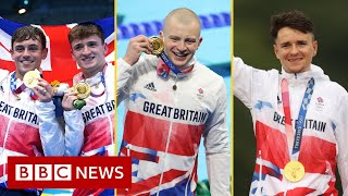 Daley and Peaty spark Tokyo 2020 gold rush for Team GB - BBC News