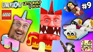 Lets Build & Play LEGO Dimensions #9: UNIKITTY RAGE! (FGTEEV Continues the Story)(, 2016-01-19T21:25:40.000Z)
