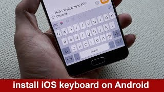 Gambar cover How to install iOS keyboard on Android