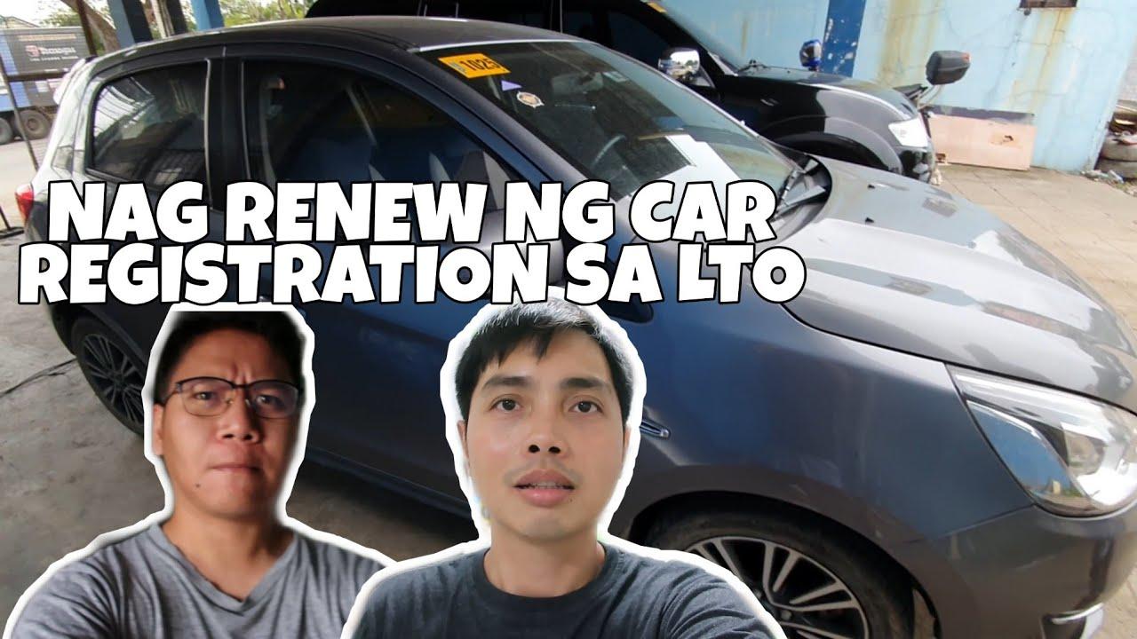 Nag Renew ng Car Registration sa LTO   Bobster Vlogs Ep 170