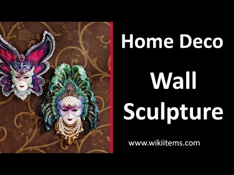 Living Room Decorating Ideas , Home Decorating with wall Sculptures 6