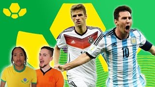 Germany v Argentina - World Cup Final | Comments Below