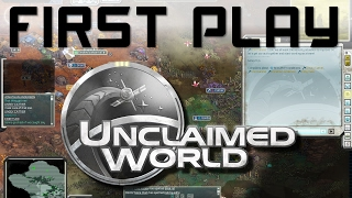 First Play: Unclaimed World - Colony Survival Game