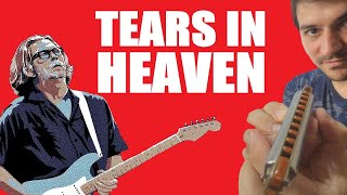 😢 TEARS IN HEAVEN ☁️ | How to play on HARMONICA | Eric Clapton |