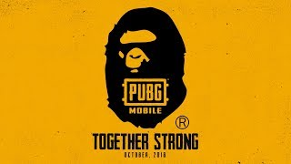 PUBG MOBILE X BAPE - Game-play and Giveaways!