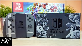 Nintendo Switch Super Smash Bros ULTIMATE Edition Console Bundle Unboxing!