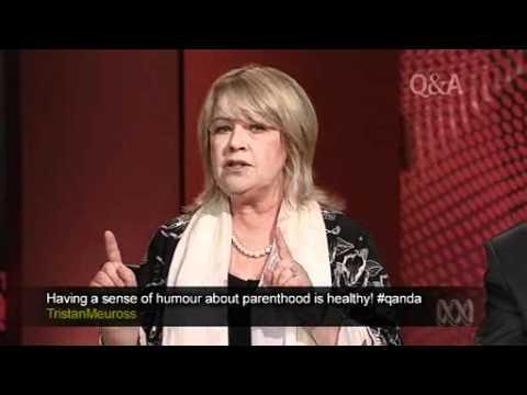 Noni Hazlehurst on QandA - Go The Fuck To Sleep Question