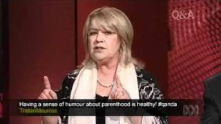 Noni Hazlehurst on QandA - Go The Fuck To Sleep Question
