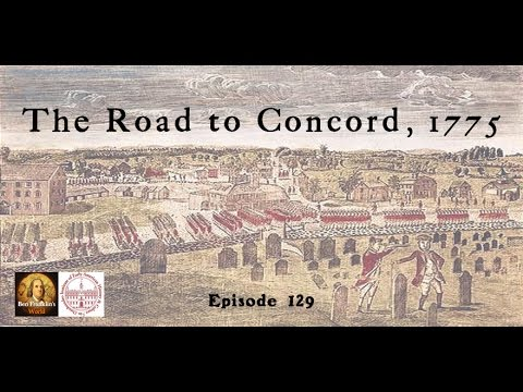129 John Bell, The Road to Concord, 1775
