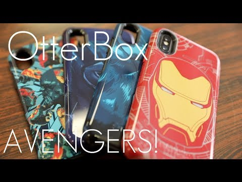 save off 6489a 65682 OtterBox AVENGERS Symmetry Case! - iPhone X - Hands on Review
