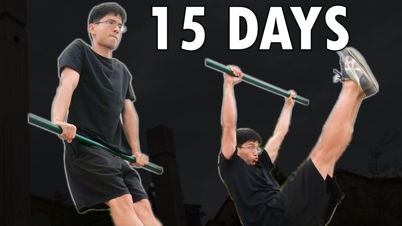This Calisthenics Freestyle Beginner Learns the Dynamic Muscle-up in 15 Days