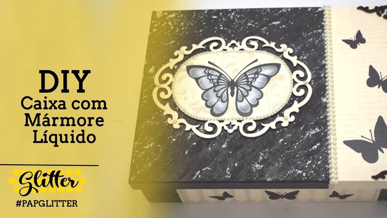 DIY | Caixa Decorada com Stencil