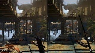 Dead Island Riptide: Xbox 360 vs. PC Comparison Video