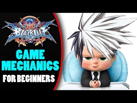 Blazblue Central Fiction Game Mechanics For Beginners! | Blazblue Central Fiction Tutorial!