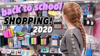 Back To SCHOOL SHOPPING 2020! For YEAR 10...