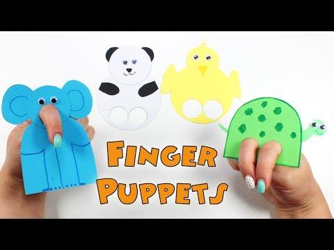 Diy Finger Puppets  How To Make Finger Puppets For Kids