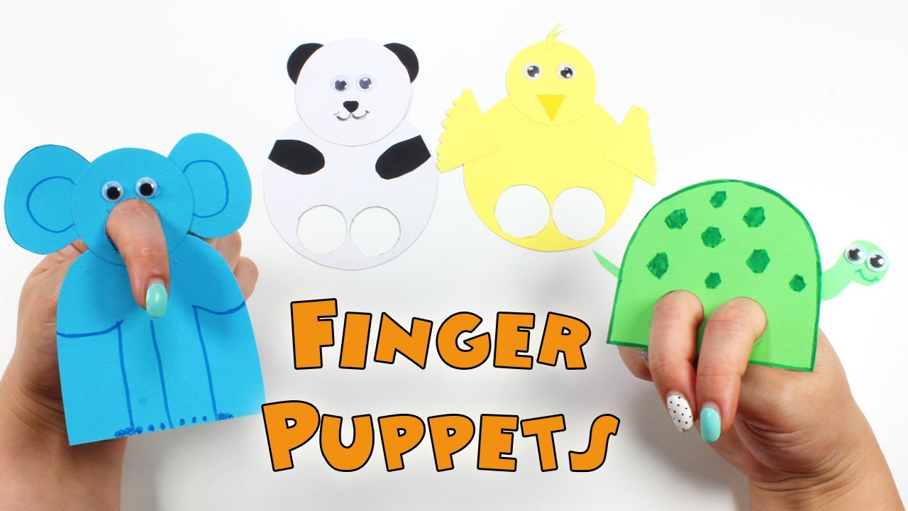 puppets for preschoolers to make diy finger puppets how to make finger puppets for 39004