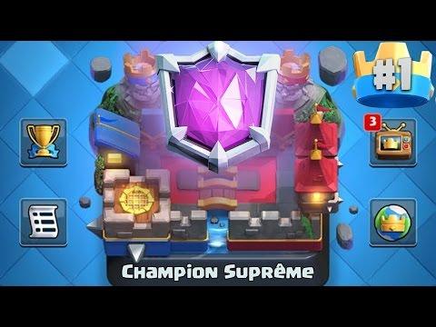 Clash Royale / OBJECTIF!! LIGUE CHAMPION SUPREME A 6400+ TROPHEES